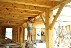 building with timbers it s not as hard