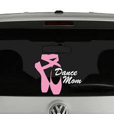 Dance Mom Ballet Shoes Vinyl Decal Sticker Car Window Ebay