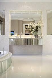 glam style bathroom mirror ideas diy