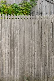 Colonial Gothic Or French Gothic Picket Tops Picket Fence Pattern Vintage Weathered Wooden Fence Stock Photo Download Image Now Istock