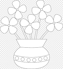 coloring book flowerpot drawing child