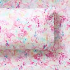 tie dye sheet set pottery barn teen