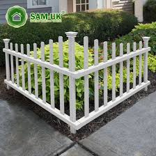 China 4 Foot Scalloped Vinyl Picket Fence On Uneven Ground China White Vinyl Picket Fence White Vinyl Picket Fencing
