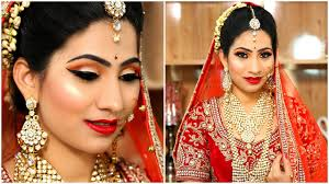 bridal makeup without beauty parlor