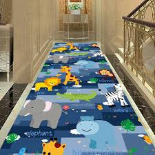 Hot Offer 262dbe Cartoon Kids Bedroom Decor Carpet Doormat Dinosaur Animal Play Mat Balcony Corridor Area Rug Flannel Rug Carpets For Living Room Cicig Co