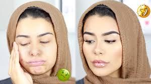 sick to healthy natural makeup look