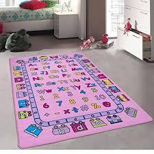 Non Slip Kids Area Rug Carpet 8x10 Multicolor Polyester Fun School Nursery Quality Safe New Abc