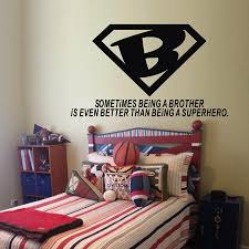 Brother Is Even Better Than Superhero Warm Quotes Vinyl Wall Decals Home Boys Room Wall Sticker Decor Wall Sticker Decor Sticker Decorationvinyl Wall Decals Aliexpress
