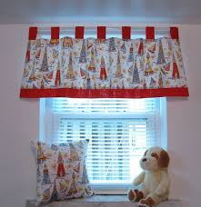 Kids Window Treatments Curtain Valance Boys Room Nursery Childs Room 45 00 Via Etsy Kids Curtains Kids Window Treatments Vintage Kids Room