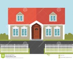 House White Picket Fence Stock Illustrations 652 House White Picket Fence Stock Illustrations Vectors Clipart Dreamstime