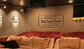 Wall Decal Home Theater Custom Movie Ticket 20 00 Via Etsy Theater Room Entry Home Theater Setup Movie Room At Home Movie Theater