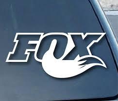 Fox Racing Fox Tail Logo Vinyl Sticker Decal Car Truck Windon Wall Lap Mymonkeysticker Com