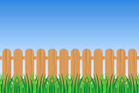 Green Grass And Fence Download Free Vectors Clipart Graphics Vector Art