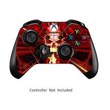 Skins Stickers For Xbox One Controller Xbox 1 Remote Protective Cover Wired Wireless Gamepad Decals Skull Dark Red Walmart Com Walmart Com