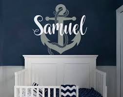 Nautical Wall Decal Etsy