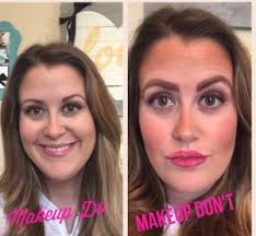 don ts of makeup