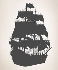 Silhouette Of Peter Pan Ship Ship Silhouette Vinyl Wall Decals Pirate Ship