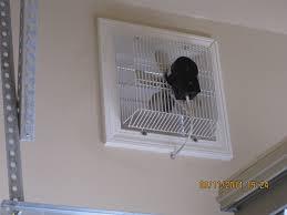 gft 16 through wall garage fan cool