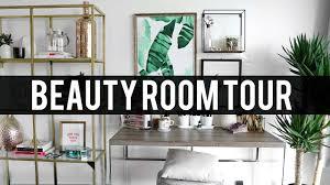 beauty room tour 2017