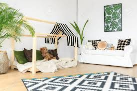 Clean Tranquil Open Space In Natural Bright Kids Room Stock Photo Picture And Royalty Free Image Image 79257331