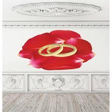 Shop Full Color Wedding Bands Full Color Decal Wedding Decor Bridal Salon Groom Bride Sticker Decal Size 44x60 Overstock 14334198