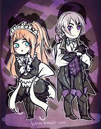 Felicia the maid and Joker/Jakob the butler. | Fire emblem, Fire emblem  fates, Favorite character