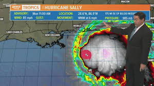 Hurricane Sally forms: track, models ...