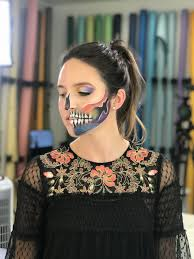 y and scary halloween makeup looks