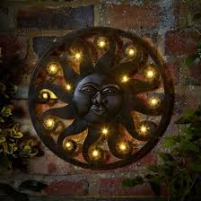 outdoor metal wall art uk