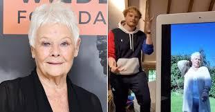 Judi Dench Does TikTok Dance with ...