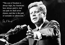com john f kennedy jfk photo picture poster framed quote