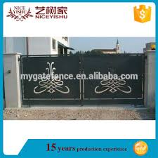 Used Rustic Modern Laser Cut Gate Design Philippines Wrought Iron House Main Gate Aluminum Garden Gates View Laser Cut Gates Yishujia Product Details From Shijiazhuang Yishu Metal Products Co Ltd On Alibaba Com