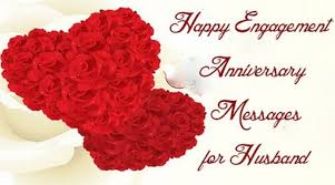 happy engagement anniversary messages for husband