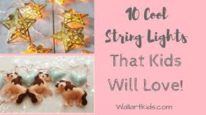 Cool String Lights That Kids Will Love