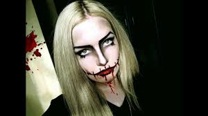 halloween makeup tutorial scary doll
