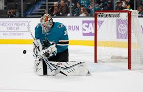 Aaron Dell, San Jose Sharks ready for Columbus Blue Jackets