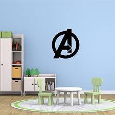 Avengers Vinyl Wall Decal Marvel Comics Superhero Logo Symbol Customvinyldecor Com