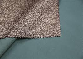viscose backing soft pu leather