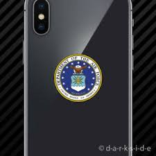 2x Department Of The Air Force Seal Cell Phone Sticker Mobile Usaf United Ebay