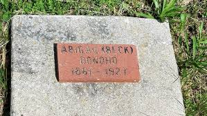 Abigail Beck Donoho (1854-1927) - Find A Grave Memorial
