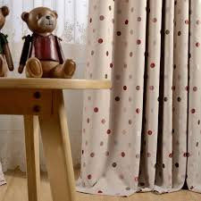 Polka Dot Blackout Curtains For Bedroom Girl S Room Thick Window Drapes For Kids Room Inoava Com