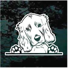 Weimaraner Doggie In The Window Decals Stickers Decal Junky