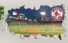 Boston Red Sox Fenway Park Mlb Custom Vinyl Wall Decals Peel Stick Op105 Ebay