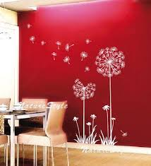 Pin By Erin Turner On Home Style Inspiration Dandelion Wall Decal Nursery Wall Murals Girl Nursery Wall