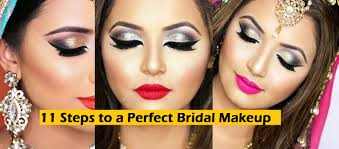 perfect bridal wedding makeup tutorial