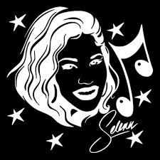 Volkrays Fashion Car Sticker Selena Quintanilla Singer Actress Music Accessories Reflective Vinyl Decal Black Silver 12cm 12cm Car Stickers Aliexpress