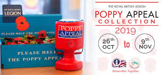 "Image result for poppy appeal 2019"""