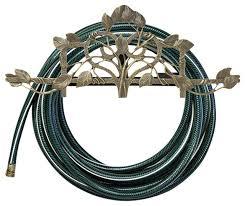 vine trellis hose holder oil rub