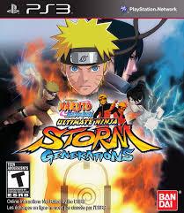 Naruto Shippuden Ultimate Ninja Storm Generations - Playstation 3 ...