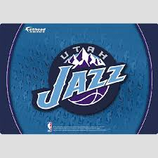 Utah Jazz Nba Logo Fathead Laptop Skin